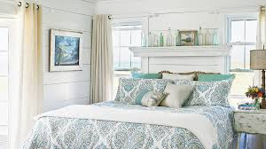 Blue And Green Bedroom Ideas For Blue Bedrooms Coastal Living