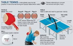 What Are The Dimensions Of A Ping Pong Table by Rio 2016 Olympics Table Tennis Guide