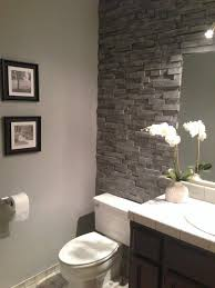bathroom walls ideas the you ll never believe this isn t stacked bathroom