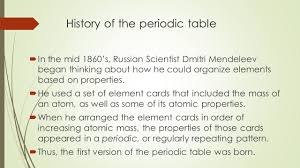 modern periodic table arrangement secrets of the periodic table history of the periodic table in