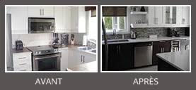 cuisine avant apr鑚 avant après la cuisine d amélie la cuisine