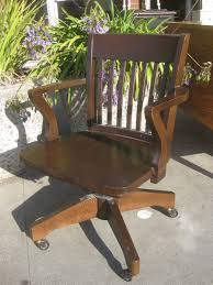 wooden rolling desk chair uhuru furniture collectibles sold rolling wooden office chair 60