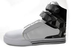 cheap top quality tk society mens shoes white black grey trellis