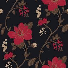 arthouse opera tatami black red wallpaper departments diy at arthouse opera tatami black red wallpaper departments diy at b q