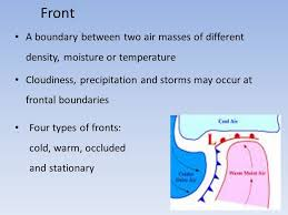 frontal boundary map weather maps fronts refers to the state of the atmosphere at a
