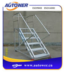 Prefabricated Aluminum Stairs by Movable Stairs Movable Stairs Suppliers And Manufacturers At
