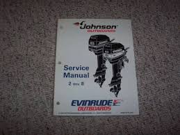 1995 johnson evinrude 4 5 6 8 hp outboard motor service repair