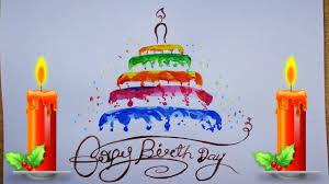 birthday cake designs for kids birthday cake drawing step by