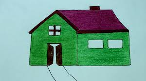 house drawing how to draw a house home how to make a house drawing cartoon