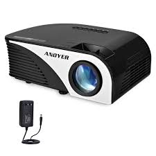 projector andyer 805b plus portable projector led mini projector