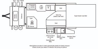 Caravan Floor Plan Layouts Kimberley Karavans Karavan Layout