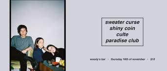 sweater curse sweater curse shiny coin culte and paradise melbourne