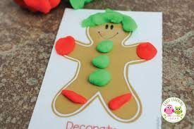 printable gingerbread man gift tags christmas play dough mats a holiday gift for kids free printable