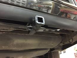 trailer hitch and wiring installed pics mbworld org forums