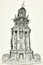 image of the boxtrolls cheese hall concept sketch original art
