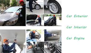 Interior Steam Clean Car Steam Car Wash Eco Jet Cleaning Machinery