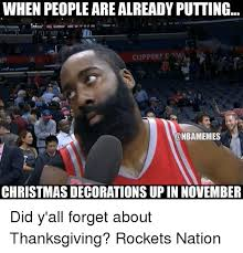 Early Christmas Meme - when people arealready putting clippers c christmas decorations up
