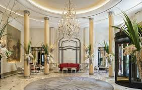 Luxury Lobby Design - hotel plaza athénée by patrick jouin