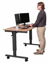 Computer Desk Stores Computer Desk Stand Tv Combo Standard Height Standing Esnjlaw Com