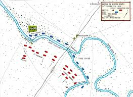 Highly Detailed River Map Of by Battle Of Modder River The Boer War