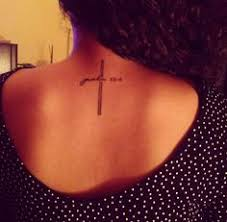 cross with jeremiah 29 11 tattoos