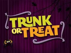 trunk or treat flyer pathway kids block party pinterest