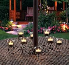 Garden Candle Chandelier Garden Candle Chandeliers Chandeliers Outdoor Candle