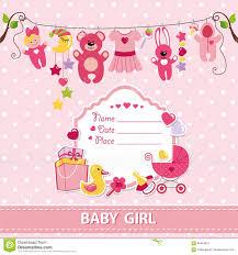 baby girl invitations baby girl invitation templates yourweek 8639d3eca25e