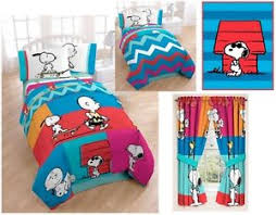 Snoopy Bed Set Boys Peanuts Snoopy Bedding Bed In A Bag