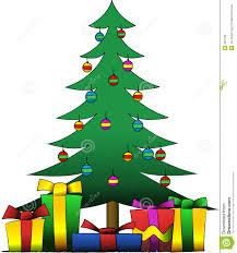 christmas tree and presents stock photos image 324183