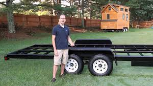 tiny house trailer informative how much is the trailer frame