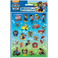 paw patrol sticker sheets 4ct walmart