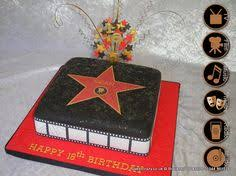 hollywood walk of fame star red carpet clapboard cake hollywood