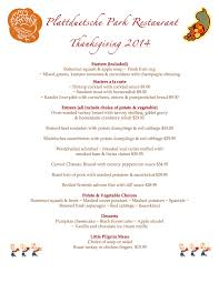 thanksgiving dinner reservations