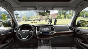 suv toyota inside 2016 toyota highlander carsfeatured com