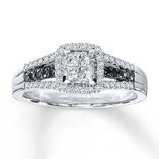 Kay Jewelers Wedding Rings Sets by Kay Jewelers Diamond Engagement Ring 1 2 Ct Tw Diamonds 10k White