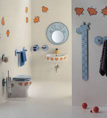 pretty style of fun bathroom ideas with adorable wall decor of