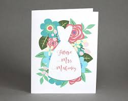 To My Bride Card Wedding Shower Cards Etsy