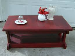 red and black coffee table distressed red coffee table wallowaoregon com amazing distressed