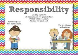 u0026 emotional learning posters respect responsibility