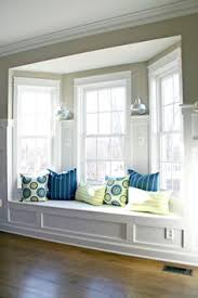 How To Build A Window Seat In A Bay Window - bench under bay window dream home pinterest bench under