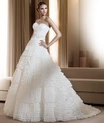 wedding dress 2011 the pronovias 2011 wedding dress collection weddingsonline