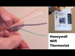 installing common wire for wifi thermostat youtube