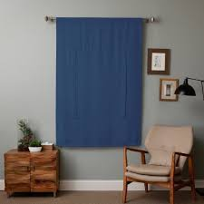 Blackout Curtains Small Window Thermal Insulated Blackout Balloon Curtain For Small Window Rod