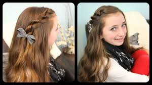 hairstyles youtube the knotted pullback cute girls hairstyles youtube