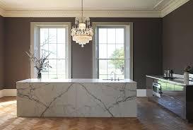 cuisine en marbre le marbre matériau de la cuisine contemporaine
