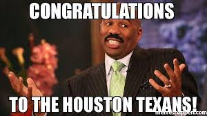 Texans Memes - congratulations to the houston texans meme steve harvey 39732