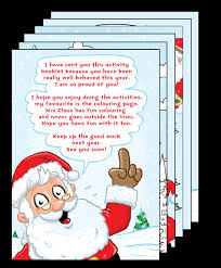 personalized letter from santa letters from santa at personalisedsantaletter co uk