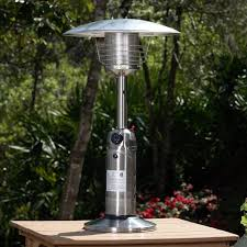 Table Top Patio Heaters Propane Sense 10 000 Btu Propane Tabletop Patio Heater Reviews