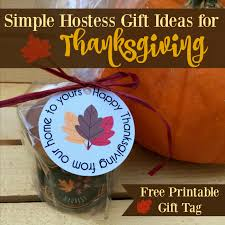simple hostess gift ideas for thanksgiving in the works